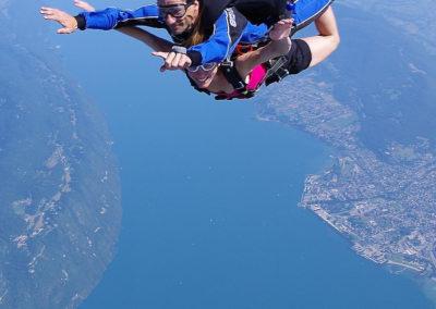 saut en tandem en Rhônes-Alpes