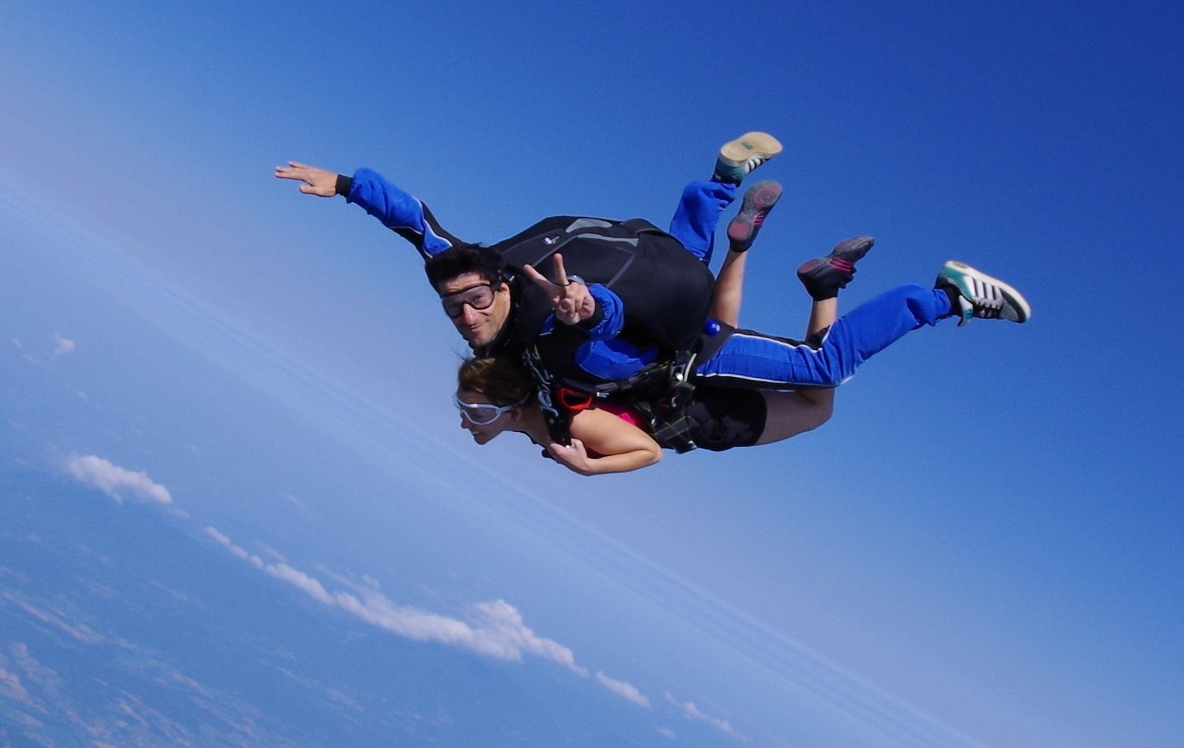 Découvrir le parachutisme